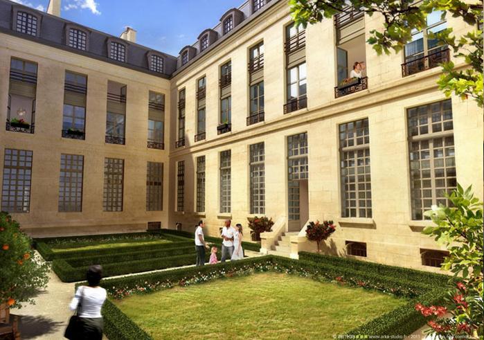Paris - Hôtel Voysin